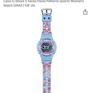 Women's Blue G-Shock S Series Watch GMAS110F-2A